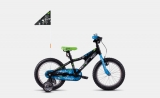 Ghost Powerkid 16 - Black / Blue