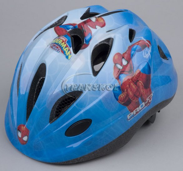 Přilba PRO-T Plus Toledo In mold Spiderman